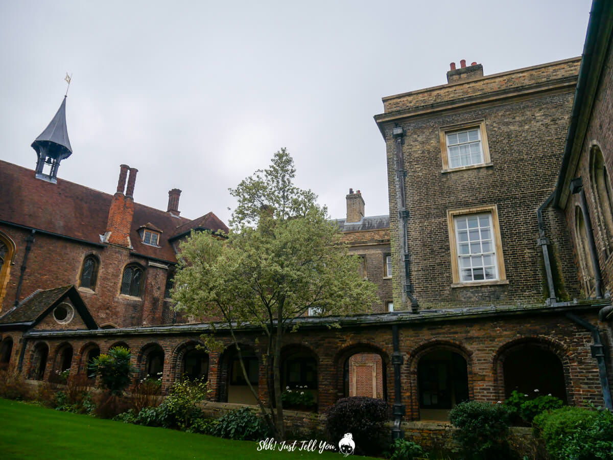 Queens' College in Cambridge劍橋皇后學院